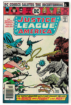 DC Comics JUSTICE LEAGUE OF AMERICA The World's Greatest Superheroes No 132 FN-