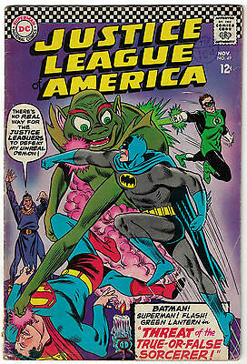DC Comics JUSTICE LEAGUE OF AMERICA The World's Greatest Superheroes No 49 VG