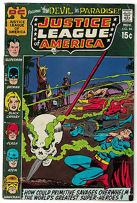 DC Comics JUSTICE LEAGUE OF AMERICA The World's Greatest Superheroes No 84 VG+