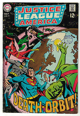DC Comics JUSTICE LEAGUE OF AMERICA The World's Greatest Superheroes No 71 VG+