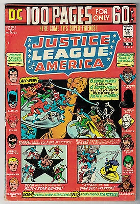 DC Comics JUSTICE LEAGUE OF AMERICA The World's Greatest Superheroes No 111 FN-