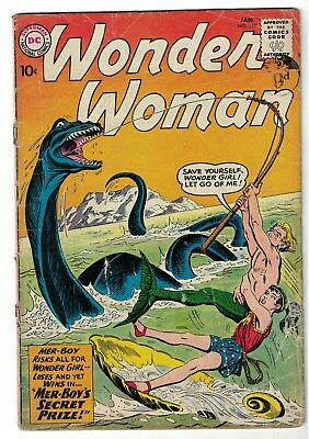 DC COMICS Wonder Woman  119 G 1958  App & New ORIGIN