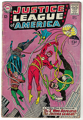 DC Comics JUSTICE LEAGUE OF AMERICA The World's Greatest Superheroes No 27 GD/VG