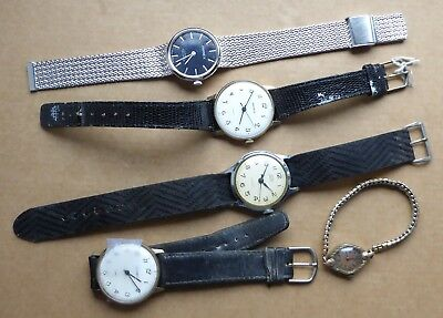 Vintage watches for parts or repair.