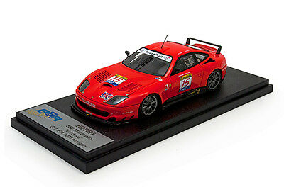 BBR Model 1/43 2001 Ferrari 550 Maranello Prodrive #15 Hungaroring 3 hours Menu