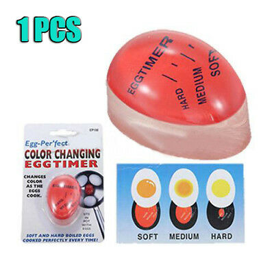 Magic Color Changing Boiled Egg Timer Kitchen Cook Hard/Medium/Soft Thermometer