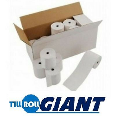 57 x 55 Hypercom ICE7000 Thermal Receipt Paper Till Rolls High Quality Low Price