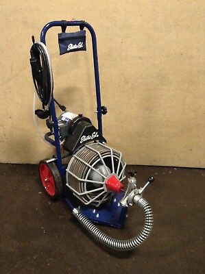 """Electric Eel Z5-AF Auto Feed Drain Cleaner Sewer Snake Plumbing 1/2"""" x 75' Cable"""