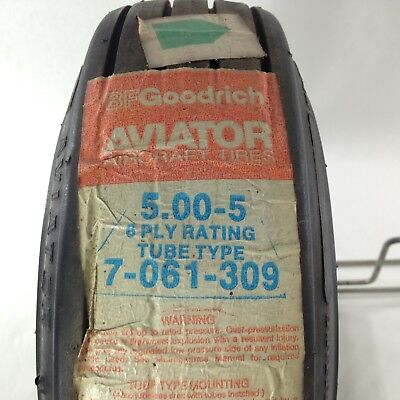 Bfgoodrich Aviator Aircraft Tire 5.00-5 6 Ply
