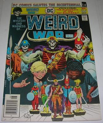 WEIRD WAR TALES #47 (DC Comics 1976) Joe Kubert cover (FN+) RARE