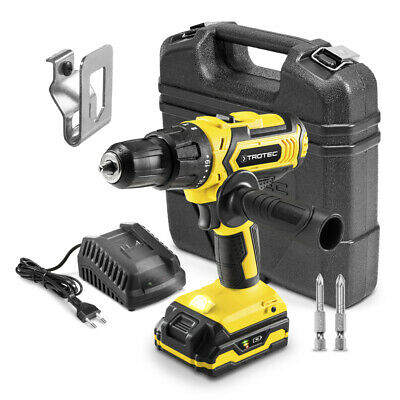 TROTEC Li-Ion Hammer Drill PHDS 11-20V (20 Torque settings, Flexpower battery)