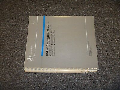 1986 1987 mercedes benz 300sdl electrical wiring diagram manual