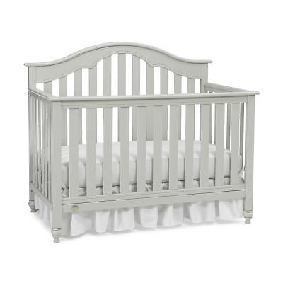 Fisher-Price Kingsport Convertible Crib with Just the Right Height - Misty Grey