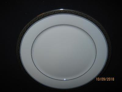 """Four (4) Noritake Crestwood Platinum 6 3/8"""" Bread & Butter Plates  {Clearance}"""