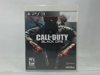 CALL OF DUTY Black Ops PS3 Sony PlayStation 3 Used French