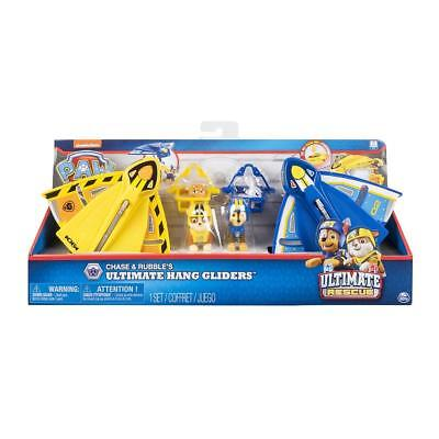 PAW Patrol Ultimate Rescue - Chase & Rubbles Ultimate Hang Gliders, For Ages 3 a