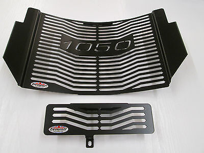 1050 Speed Triple (11-15) Black Radiator & Oil Cooler Protector, Cover, Grill  L