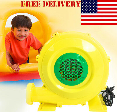 Inflatable Bounce House Castle Air Pump Mover Blower Fan Garden Business 680W