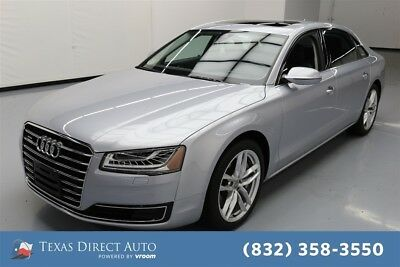 2015 Audi A8 4.0T quattro Texas Direct Auto 2015 4.0T quattro Used Turbo 4L V8 32V Automatic AWD Sedan