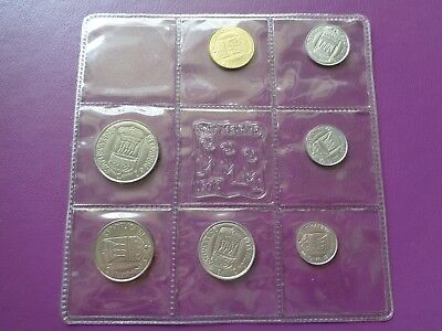 1973 San Marino 7 coins Mint set