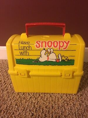 Vintage 1968 Thermos King Seeley Snoopy Lunch Box