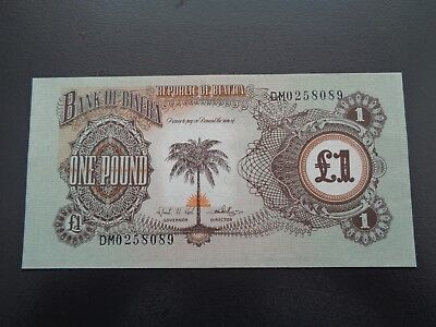 Republic of Biafra 1 Pound banknote UNC