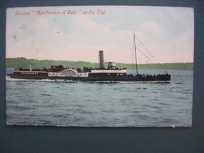 """Dundee, """"marchioness Of Bute"""" On River Tay, Early 1900's"""