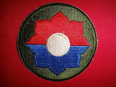 """US Army 9th Infantry Division """"OLD RELIABLES""""  Vietnam War Patch"""