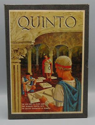 3M Bookshelf Games Vintage 1964 Quinto By Avalon Hill