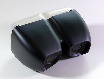 Medium Format Stereo 3D Slide Viewer w/Achromatic Lenses (black color)