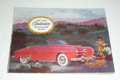 1950 Studebaker Champion Commander Land Cruiser Dealer Sales Brochure