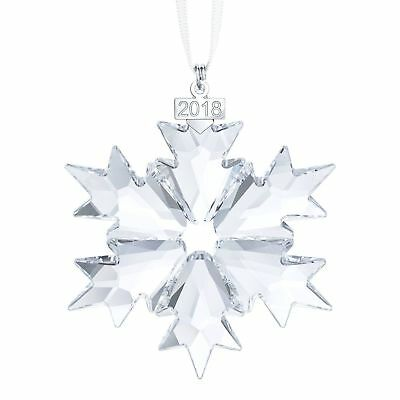 2018 Swarovski Annual Edition Christmas Ornament Large Snowflake 5301575 New!