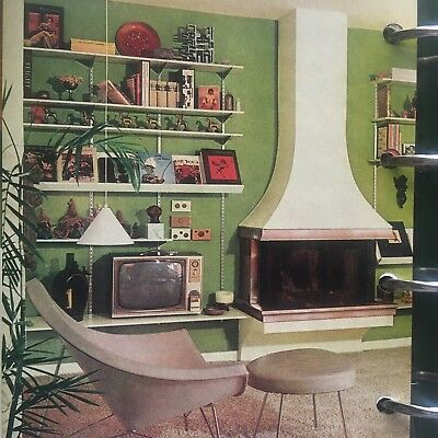 Vtg 1960s Better Homes Gardens Decorating Book Mid Century Modern Retro Idea