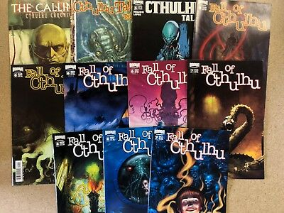 Fall of Cthulha Comics Huge Lot 13 Comic Book Collection Set Run Books Box 1