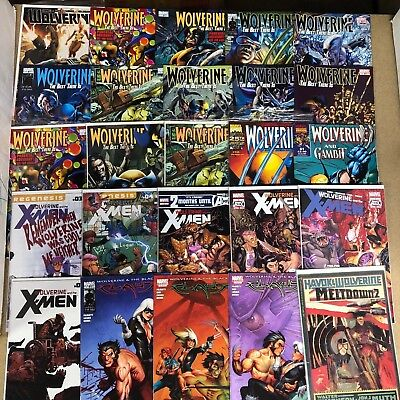 Wolverine Comics Huge Lot 25 Comic Book Collection Set Run Books Box 1