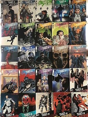 Thief of Thieves Comics Huge Lot 25 Comic Book Collection Set Box 1