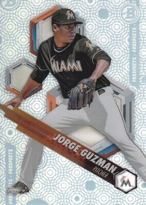 2018 Bowman High Tek Prospects #PHT-JG Jorge Guzman Miami Marlins