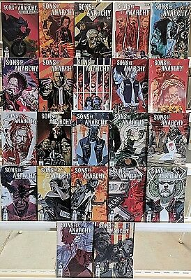 Sons Of Anarchy Comics Huge Lot 22 Comic Book Collection Set Run Books Box 1