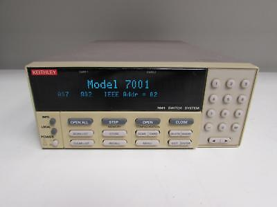Keithley 7001 80 Ch - 2 Slot Half Rack Switch Mainframe