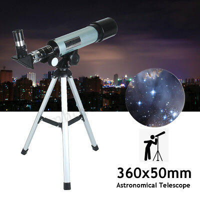 360x50mm Astronomical Telescope Monocular Space Optical Glass w/ Aluminum