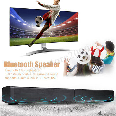 3D HIFI Speaker Bluetooth Wireless Sound Super Bar Home Theater Stereo