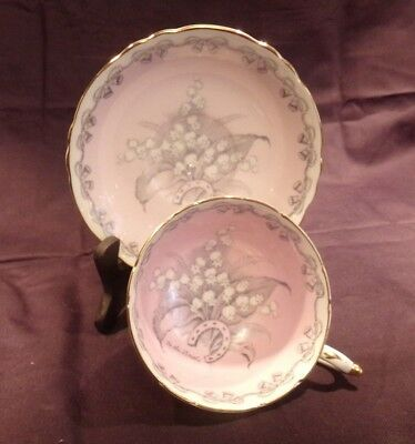 Vintage Paragon Bone China To The Bride Cup & Saucer