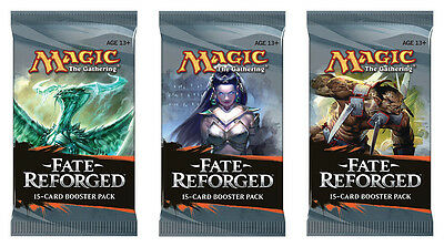 3 x Fate Reforged Booster Pack englisch sealed /OVP Magic the Gathering