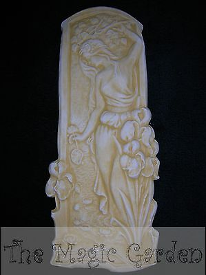 Medium ancient Greek goddess wall plaque cement plaster latex molds moulds