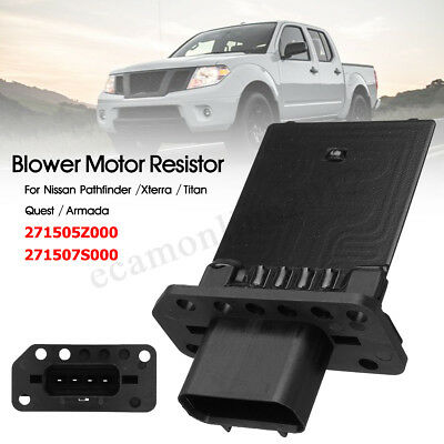 Heater Blower Motor Resistor For Nissan Pathfinder Xterra Titan 271505Z000