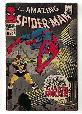 Marvel comics Amazing Spiderman 5.0 VGF 46 silver age Shocker 1st appearance
