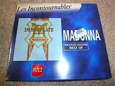 Still Sealed : MADONNA - The Immaculate Collection : FRANCE CD slipcase pack