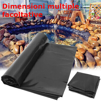 Anti-seepage Pond Liner Bestselling UK Multi Sizes Garden Fish Pond Membrane