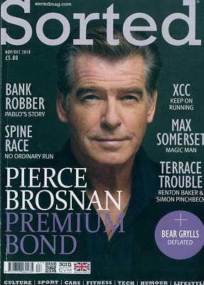 Sorted Magazine November 2018: PIERCE BROSNAN COVER STORY