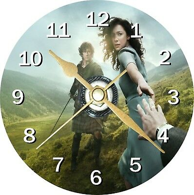 Outlander Novelty Cd Clock Can be personalised